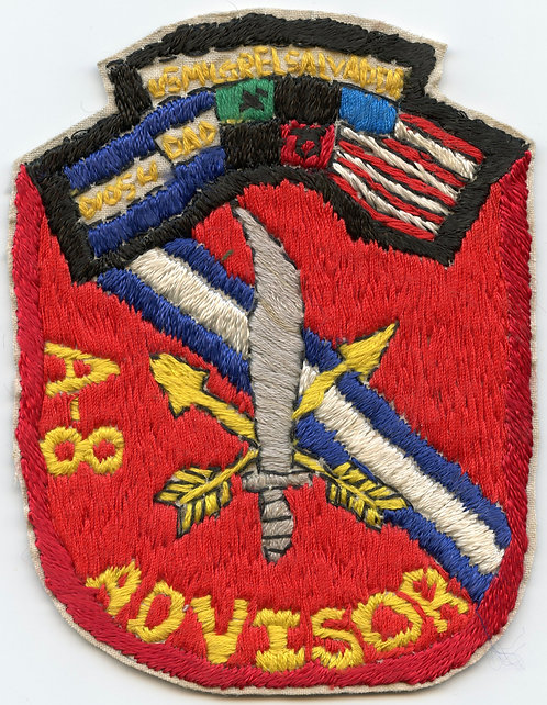 ODA-8 3rd Battalion 7th Special Forces Group El Salvador Team Patch