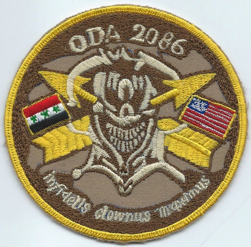ODA-2086 3rd Battalion 20th Special Forces Group (A) Patch