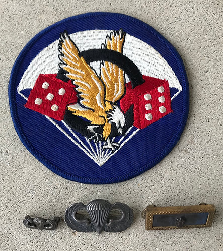 WWII 506th Parachute Infantry Regiment Named Insignia Group