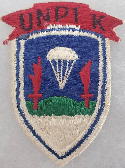 Korean War United Nations Partisan Infantry Korea UNPIK Patch