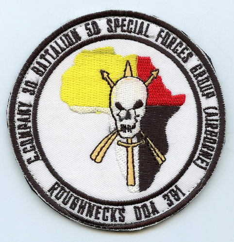 Afghan Made ODA-391 3rd Special Forces Group Patch