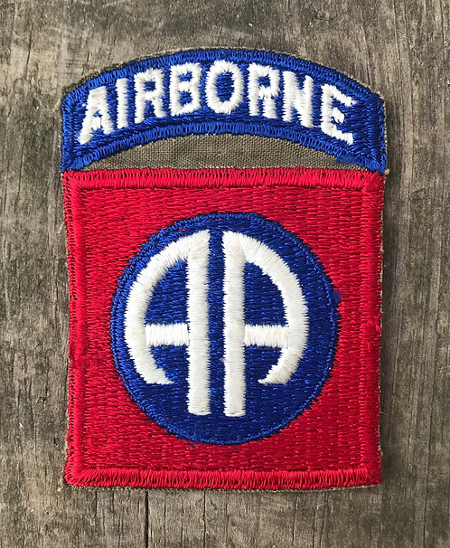 WWII 82nd Airborne Division One Piece Patch