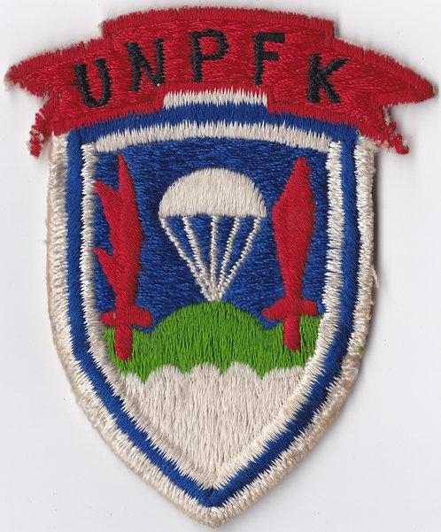 United Nations Partisan Forces Korea Shoulder Sleeve Insignia