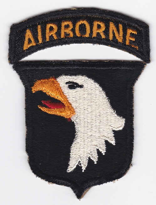 WWII Type 5 101st Airborne Division Patch