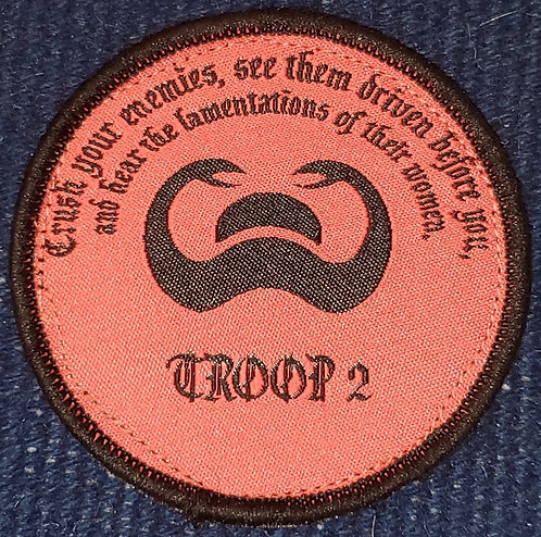 Named Troop 2 C/2/10 SFG (A) CIF CRF Patch