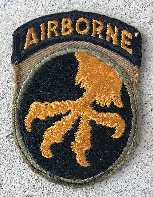 WWII 17th Airborne Division 1 Piece Patch
