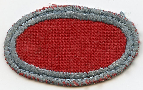 WWII 501st PIR Uniform Removed Jump Wing Oval