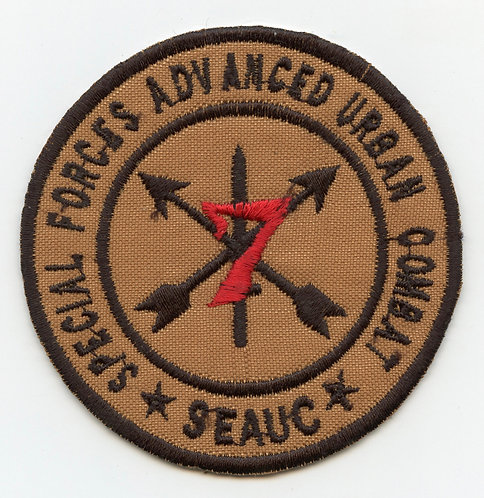 Afghan Made 7th Special Forces Group SFAUC Patch