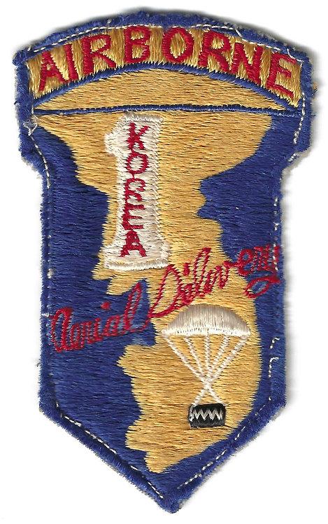 Korean War 8081st AU Quartermaster Aerial Supply Company Patch