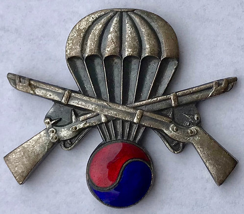 United Nations Partisan Forces Korea Airborne Infantry Badge