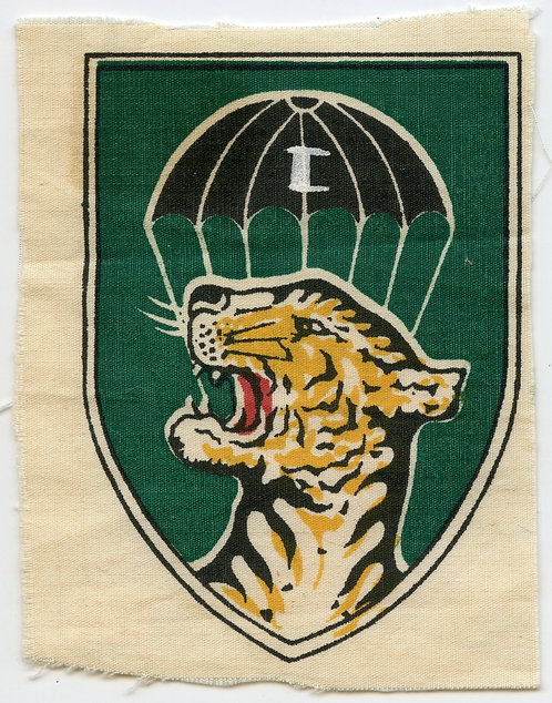 Vietnam War CIDG Airborne Qualified Camp Strike Force Patch