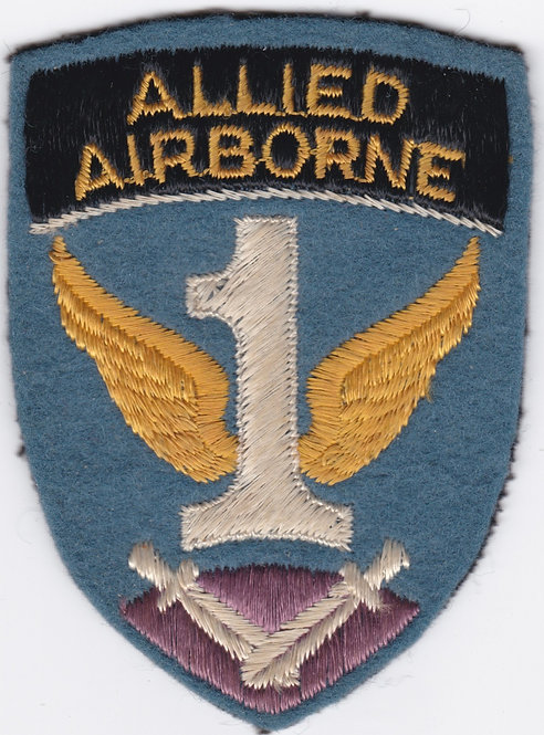 WWII English Made Allied Airborne Patch