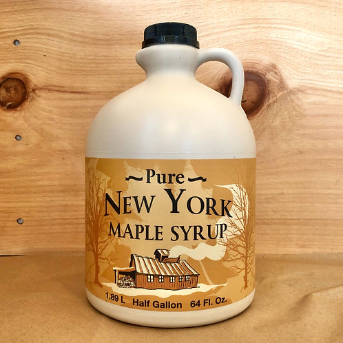 Maple Syrup, Half Gallon - Hand Hollow Sugar House