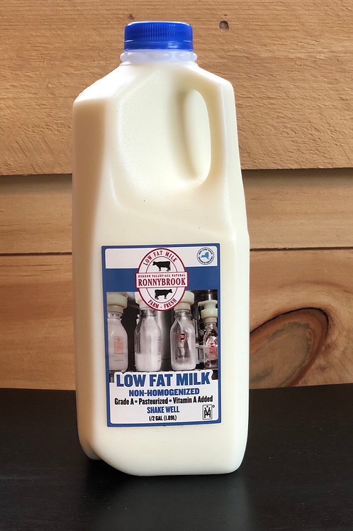 Milk, Low fat - Ronnybrook