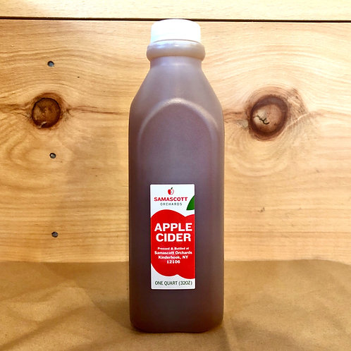 Apple Cider, Quart - Samascott Orchards