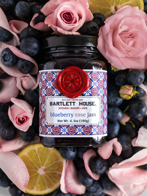 Bartlett House Jam – Blueberry Rose