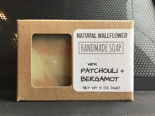 Soap - Patchouli + Bergamot