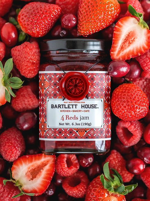 Bartlett House Jam – Four Reds