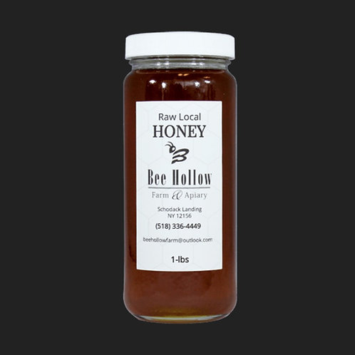 Bee Hollow - Dark Wildflower Liquid Honey