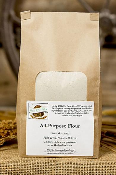 All Purpose Flour, White - Wild Hive Farm