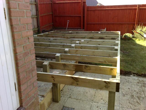 Raised Deck frame Base