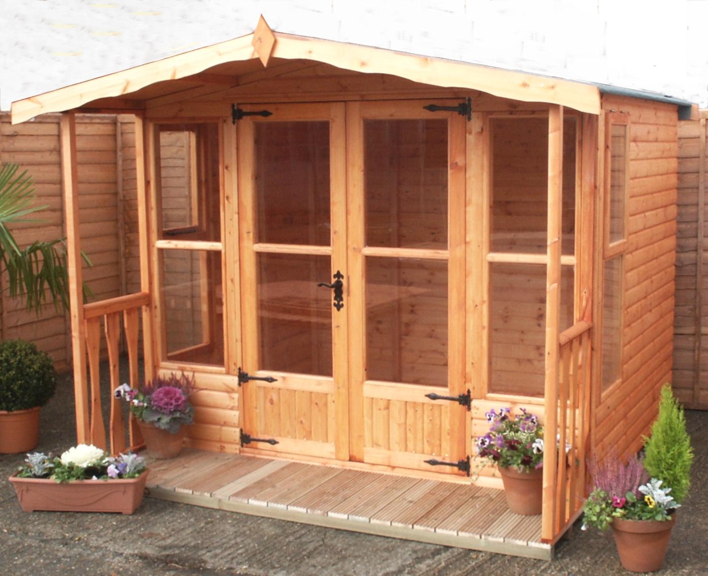 A&J Waendel summerhouse