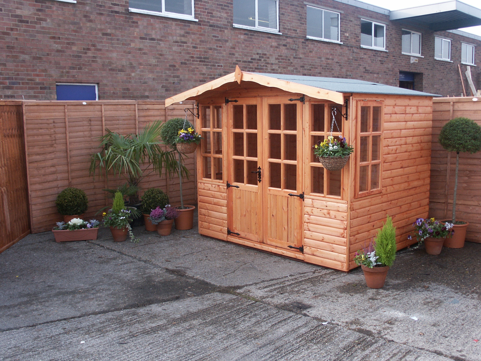 A&J Barton summerhouse