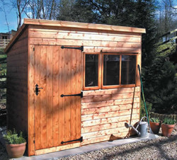 Heavy Duty Pent shed