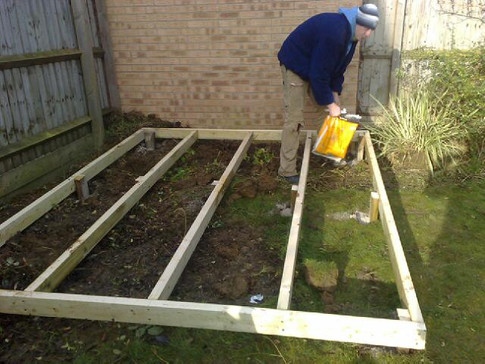 Decking framework base