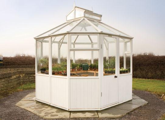 Alton Octagonal Cedar Greenhouses