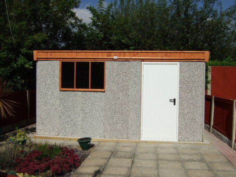 Hason Garages Knight shed