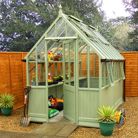alvern ainted Greenhouse