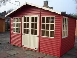 Painted Summerhouse Barton