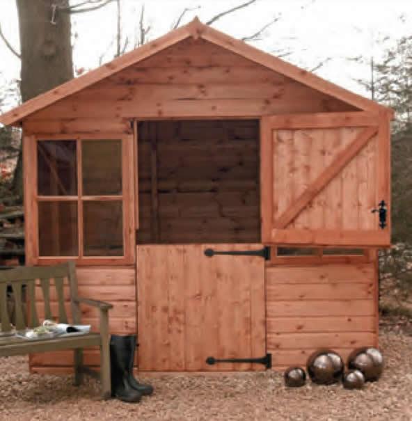 malvern Ludlow shed