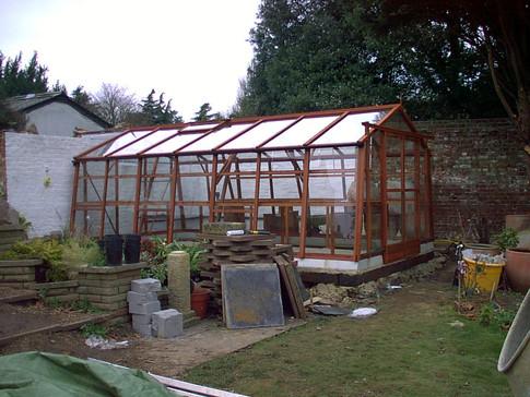 Alton Cedar Greenhouse