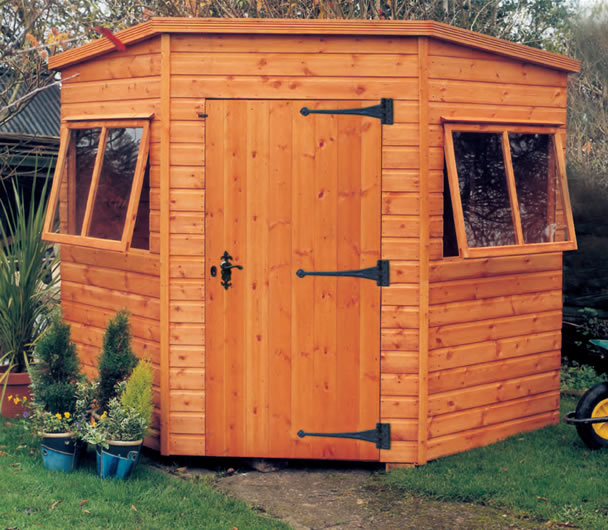 alvern Worcester Corner shed
