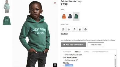 H&M'in Güney Afrika için reklamı ırkçı bulundu ve mağazalar yıkıldı...