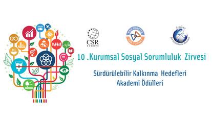 10. Kurumsal Sosyal Sorumluluk Zirvesi ve SKH Ödülleri
