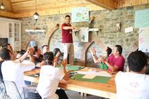"""Doğa okullarının eğitimcileri """"YAŞAYARAK"""" öğreniyor..."""
