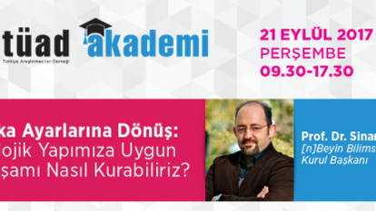 TÜAD Eğitim / Sinan Canan / 21 Eylül 2017