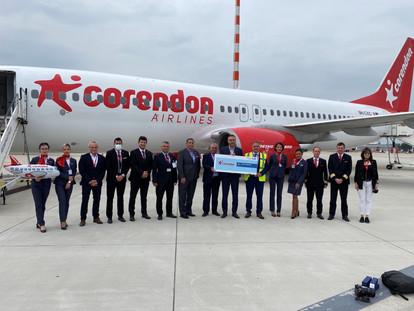Corendon Airlines Ağını Genişletti