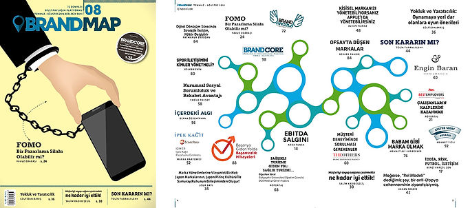 BrandMap Sayı 08 İçindekiler