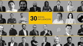 Pazarlamasyon'un Hazırladığı Social Influencer 30 List Yayınlandı
