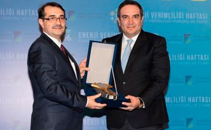Enerji verimliliğinde büyük ödül Tamek'in...