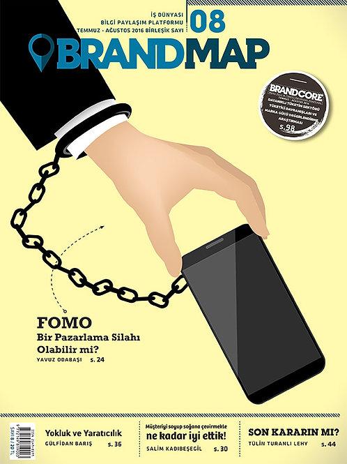 BrandMap Sayı 8 Temmuz Ağustos