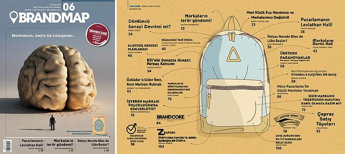 BrandMap Sayı 06 İçindekiler