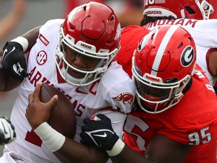 Arkansas gets humbled 37-0 against Georgia