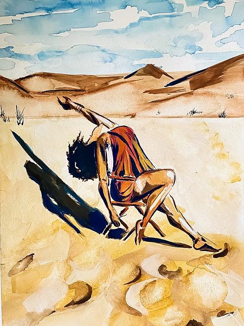 Sand Dunes - Print