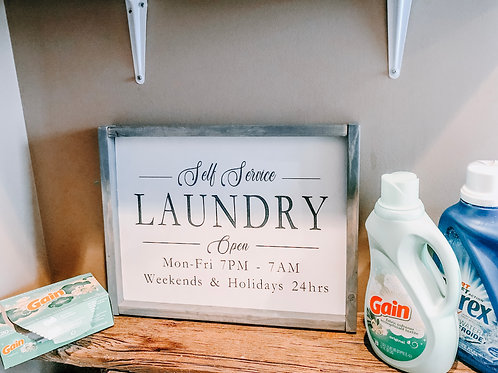 Self Service Laundry Hours