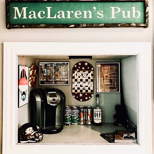 MacLaren's Pub Sign